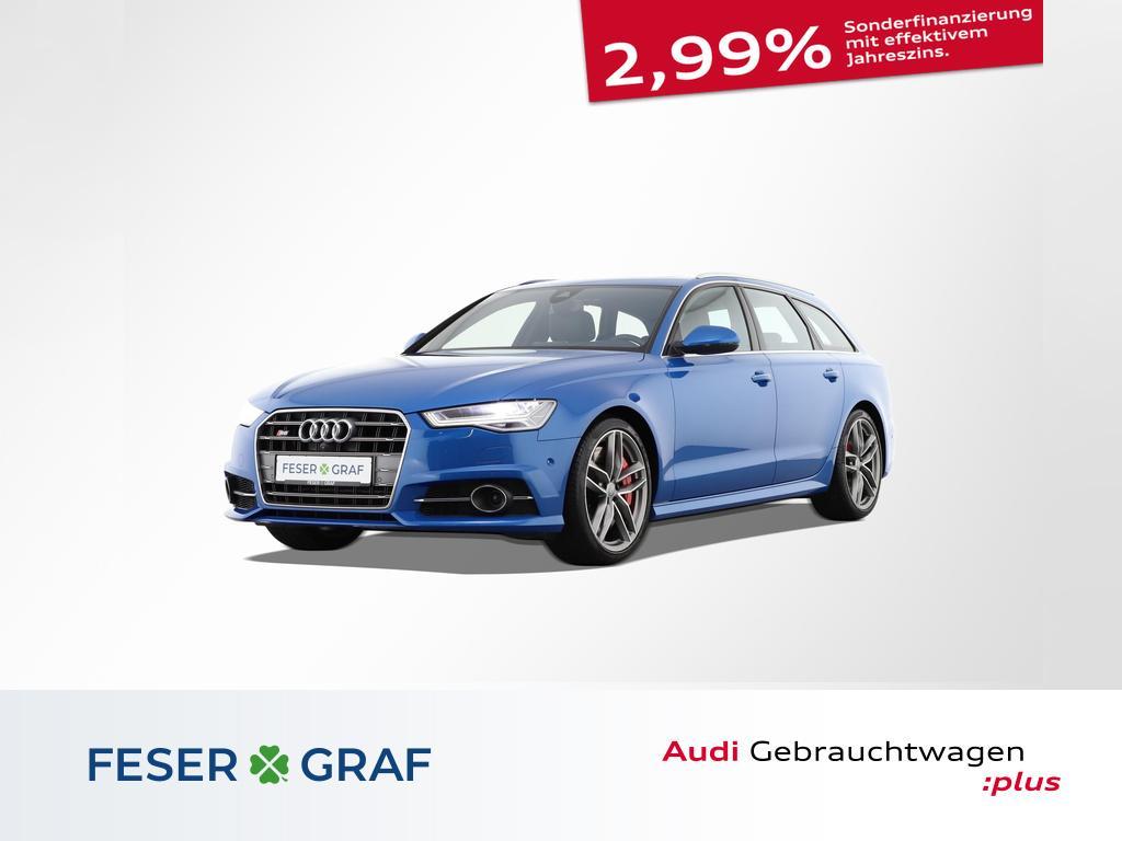 Audi S6 Avant AHK/Pano/Kameras/HeadUp/Matrix/Alu-20`, Jahr 2018, Benzin