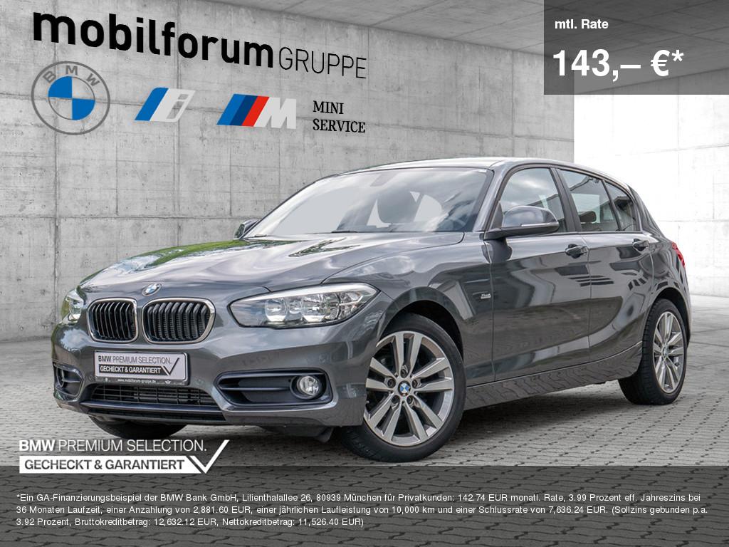 BMW 116i Sport Line, Jahr 2016, Benzin