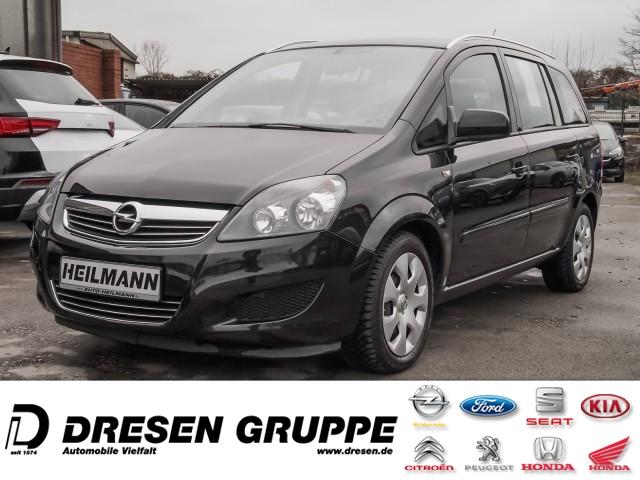 Opel Zafira B Family 1.8 7-Sitzer/Klimaanlage/ CDmp3/Tempomat/HillStartAssist/RDKS/Mittelarmlehne, Jahr 2014, Benzin