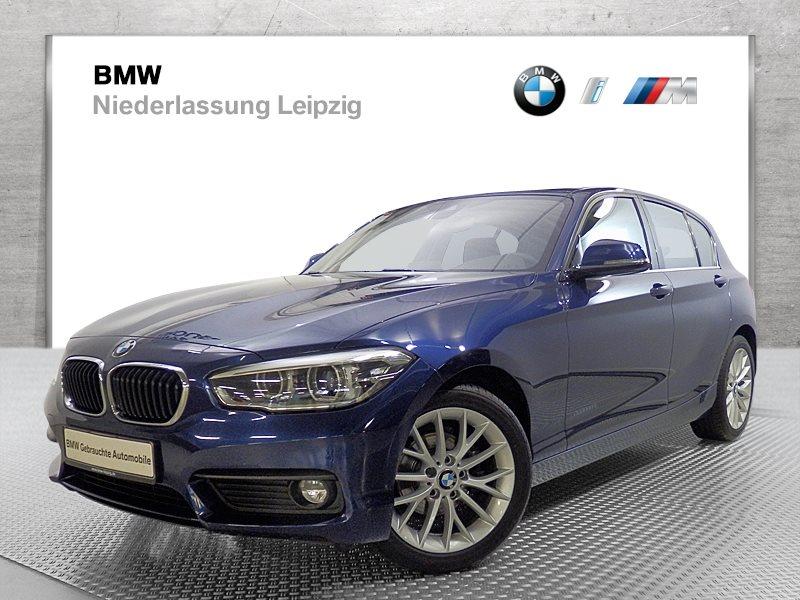 BMW 118i 5-Türer EURO6 Advantage LED Navi Bus. RTTI Fl.Ass. USB, Jahr 2017, Benzin
