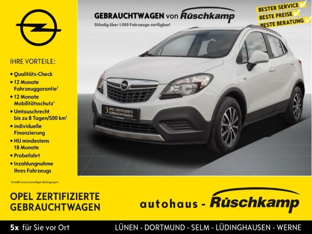 Opel Mokka Selection ecoFlex 1.6 Alu Klima BT Servo ZV, Jahr 2015, Benzin