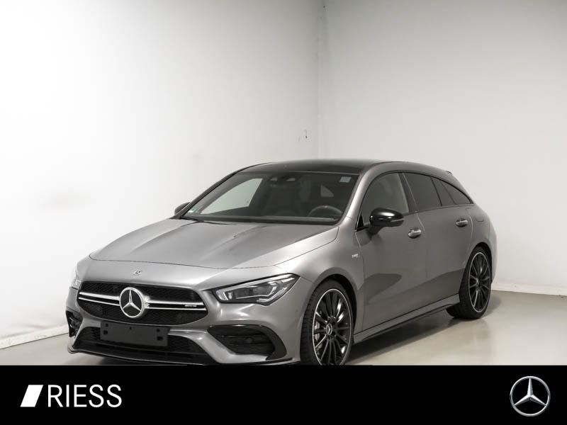 Mercedes-Benz CLA 35 AMG 4M SB Aero Perf Sitz Pano Nig 360°Bu, Jahr 2020, Benzin