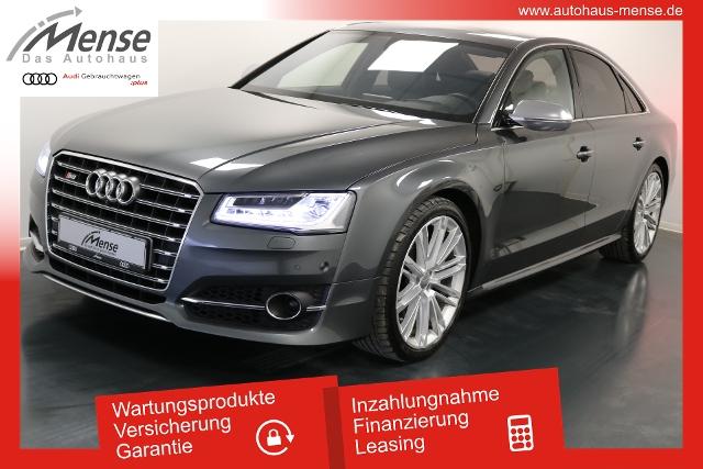 Audi S8 quattro tiptronic LED Navi Pano AHK, Jahr 2017, petrol