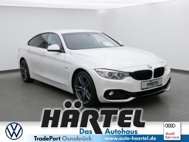 BMW 420d GRAN Coupé SPORT LINE STEPTRONIC (+LEdER, Jahr 2016, Diesel
