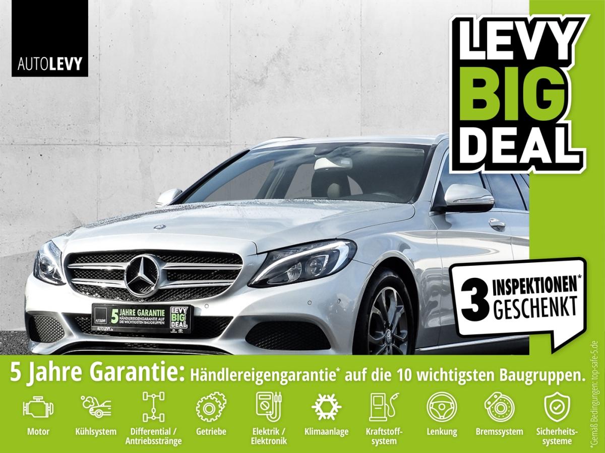 Mercedes-Benz C 250 T 7G-tronic Avantgarde Navi*LED*AHK*EasyPa, Jahr 2014, Benzin