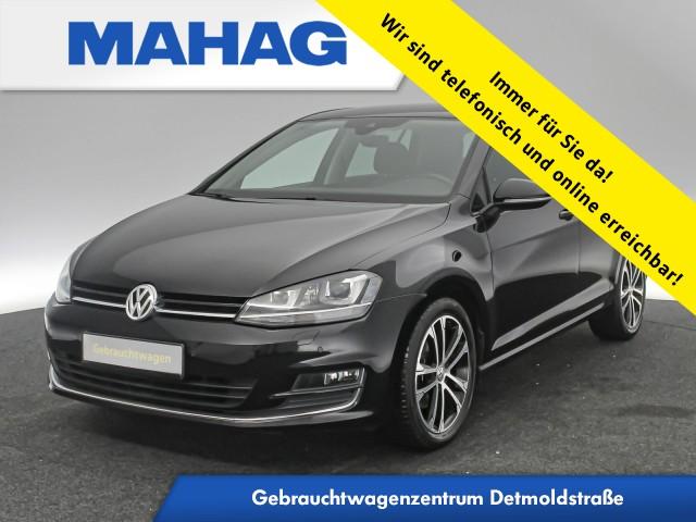 Volkswagen Golf VII 1.4 TSI AllstarPlus Navi Xenon Kamera Sprachbed. Tempomat 17Zoll 6-Gang, Jahr 2016, Benzin