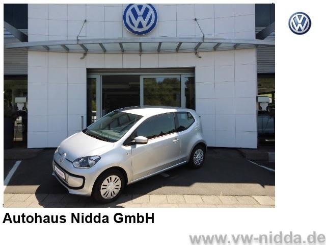 Volkswagen up! move up!, 2-Türer, Klima, Langstrecke, gepfl, Jahr 2013, Benzin