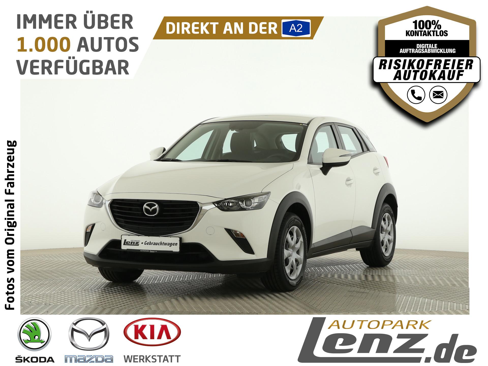 Mazda CX-3 Klimaanlage USB MFL HU-NEU Garantie ZV, Jahr 2017, Benzin