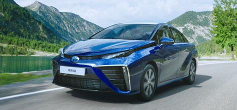 Toyota Mirai Wasserstoff, LED, Leder, Navi, Jahr 2019, hydrogenium