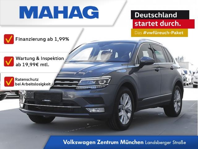 Volkswagen Tiguan Highline 2.0 TDI 4 Motion Lederausstattung AHK, Jahr 2017, Diesel