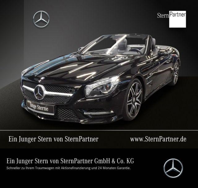 Mercedes-Benz SL 400 AMG Harman+Sitzklima+Panorama+Distr.+TV, Jahr 2016, petrol