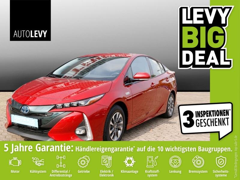 Toyota Prius 1.8 Hybrid Plug-In *Navi*Head Up*Leder*, Jahr 2017, hybrid