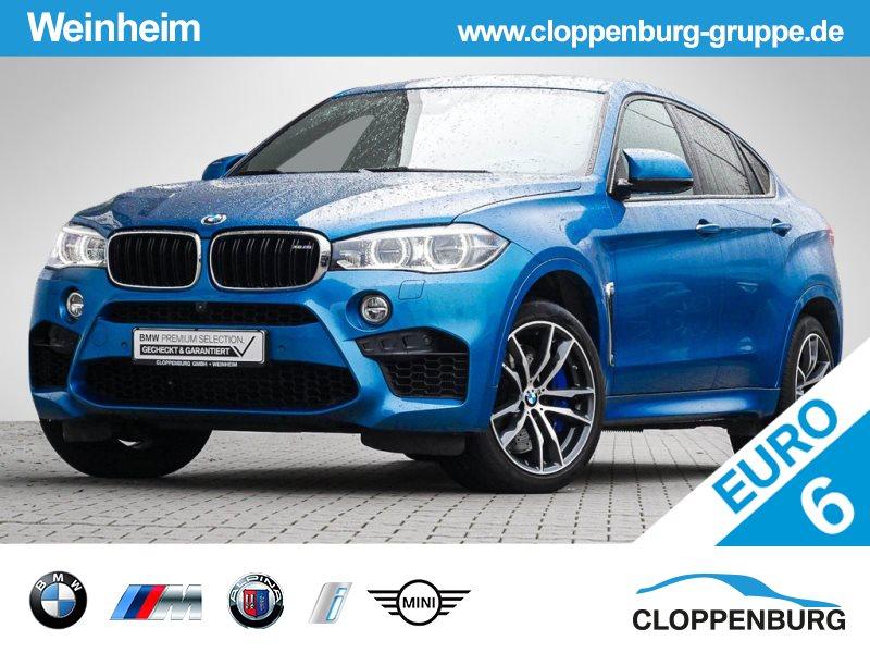 BMW X6 M M Drivers Package HEAD-UP KAMERA LENKRADHZG -, Jahr 2017, petrol