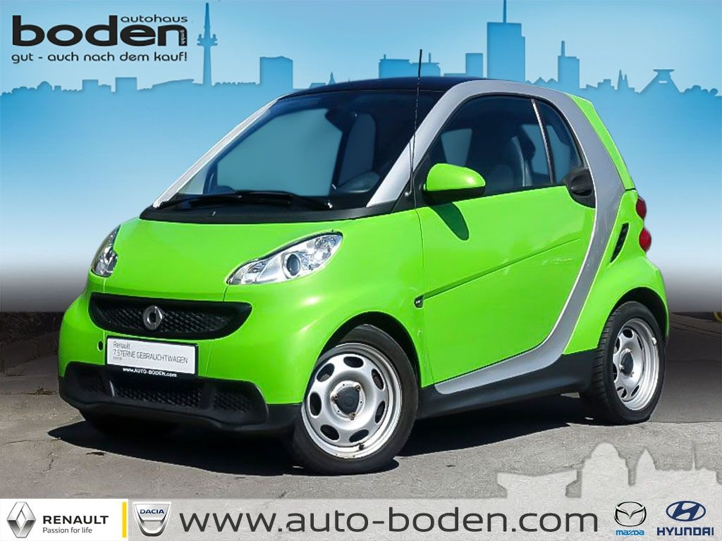 smart ForTwo coupe softouch pure KLIMA USB eFH, Jahr 2012, Benzin