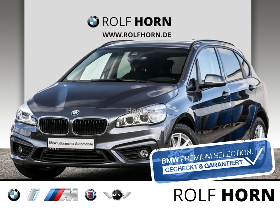 BMW 220 Active Tourer Navi LED PDC SHZ Klima HiFi, Jahr 2018, Benzin