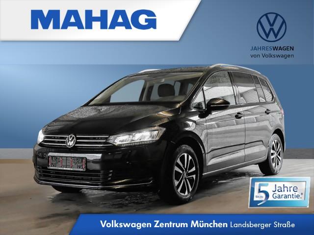 Volkswagen Touran 2.0 TDI UNITED 7-Sitzer DigitalCockpitPro Navi LED AppConnect Sitzhz. ParkPilot LightAssist FrontAssist 16Zoll 6-Gang, Jahr 2020, Diesel