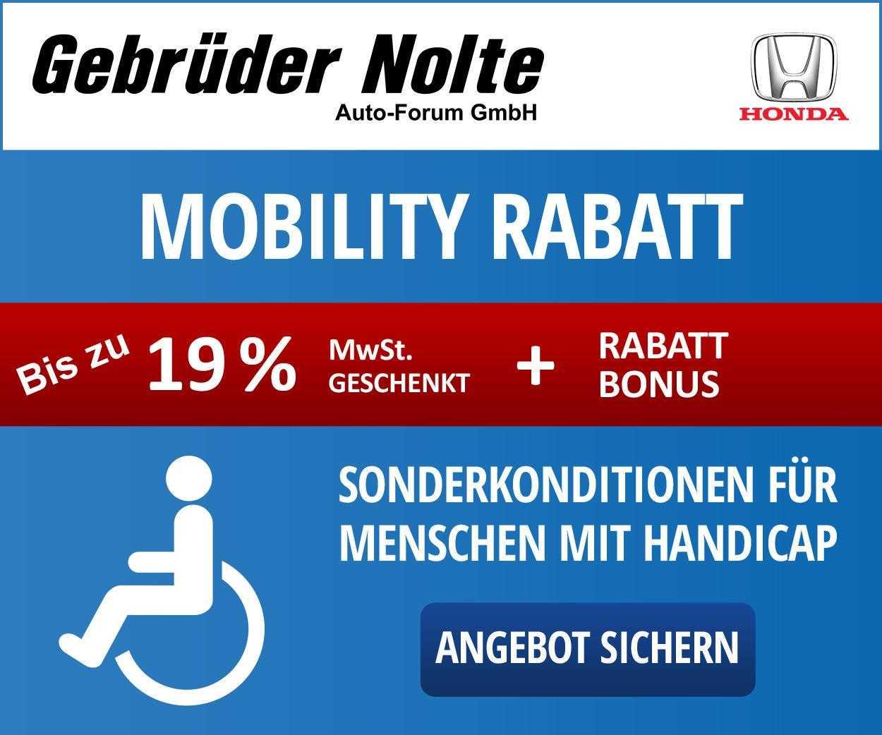 Honda e   mit Extra Mobility Rabatt!, Jahr 2021, Elektro