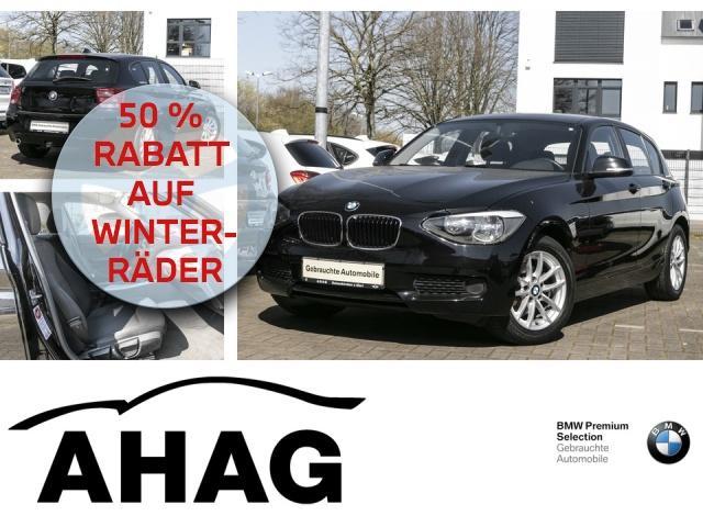 BMW 114i LM Sitzhzg. Vorn Lederlenkrad 98 EUR monatl., Jahr 2013, Benzin