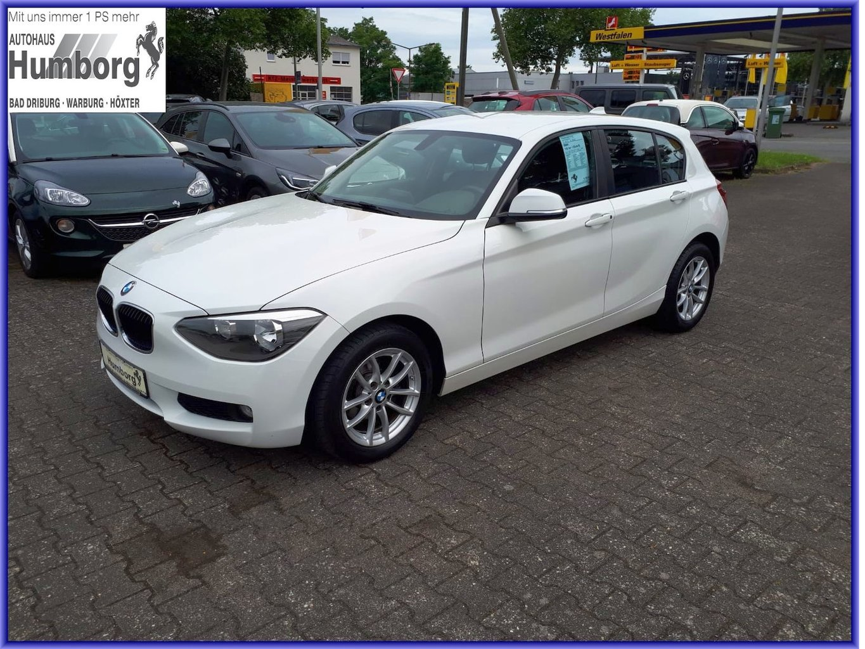 BMW 116 1er - i (Euro 6), Jahr 2014, Benzin