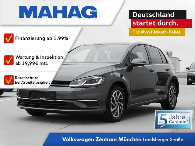 Volkswagen Golf VII Sound 1.5 TSI ACC Dynamic Light 7-Gang DSG, Jahr 2017, Benzin