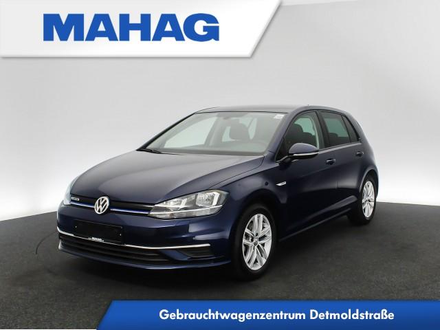 Volkswagen Golf VII COMFORTLINE 1.5 TSI Navi ActiveInfo ACC FrontAssist ActiveErgoSitze ParkPilot 16Zoll 6-Gang, Jahr 2019, Benzin