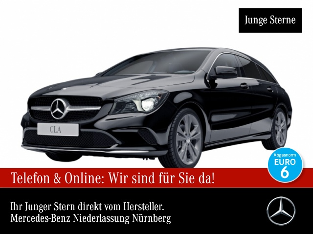 Mercedes-Benz CLA 200 SB Urban Kamera Sitzh Sitzkomfort Chromp, Jahr 2016, Benzin