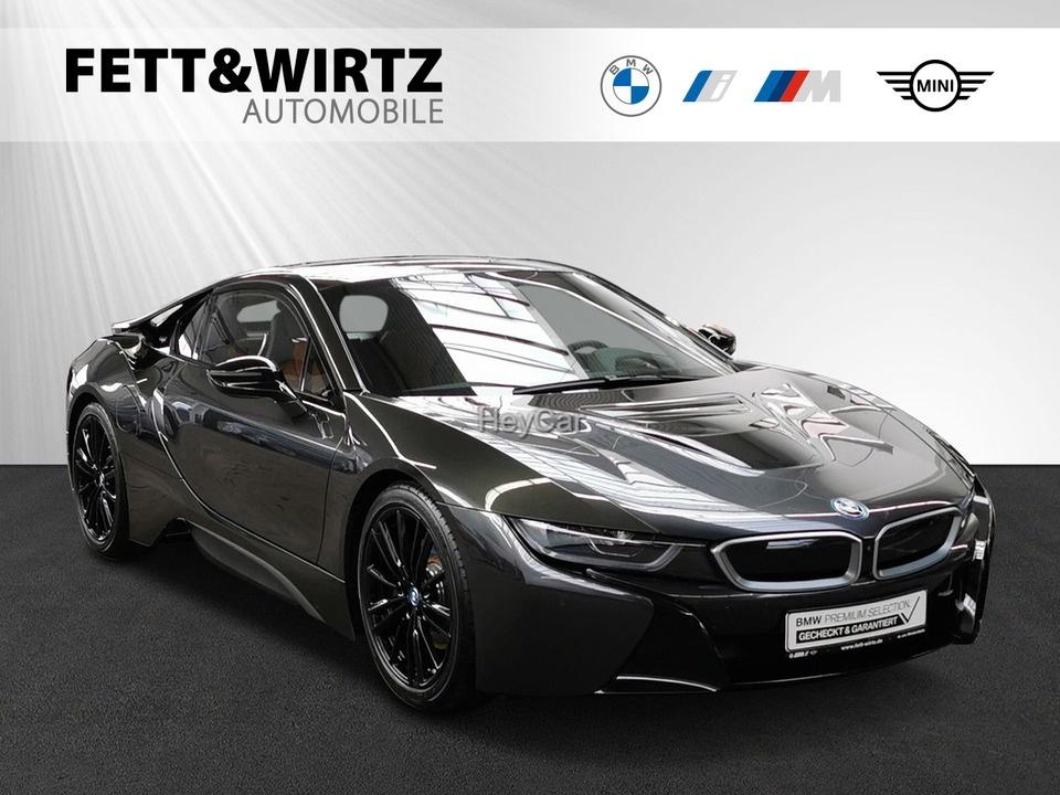 BMW i8 Coupe NaviProf. HUD Laser H/K 20'' SHZ, Jahr 2020, Hybrid
