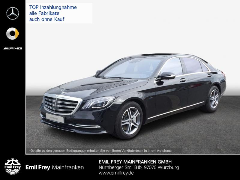 Mercedes-Benz S 560 e L PlugIn+PANO+Beam+HeadUp+Distro+360°, Jahr 2019, Hybrid