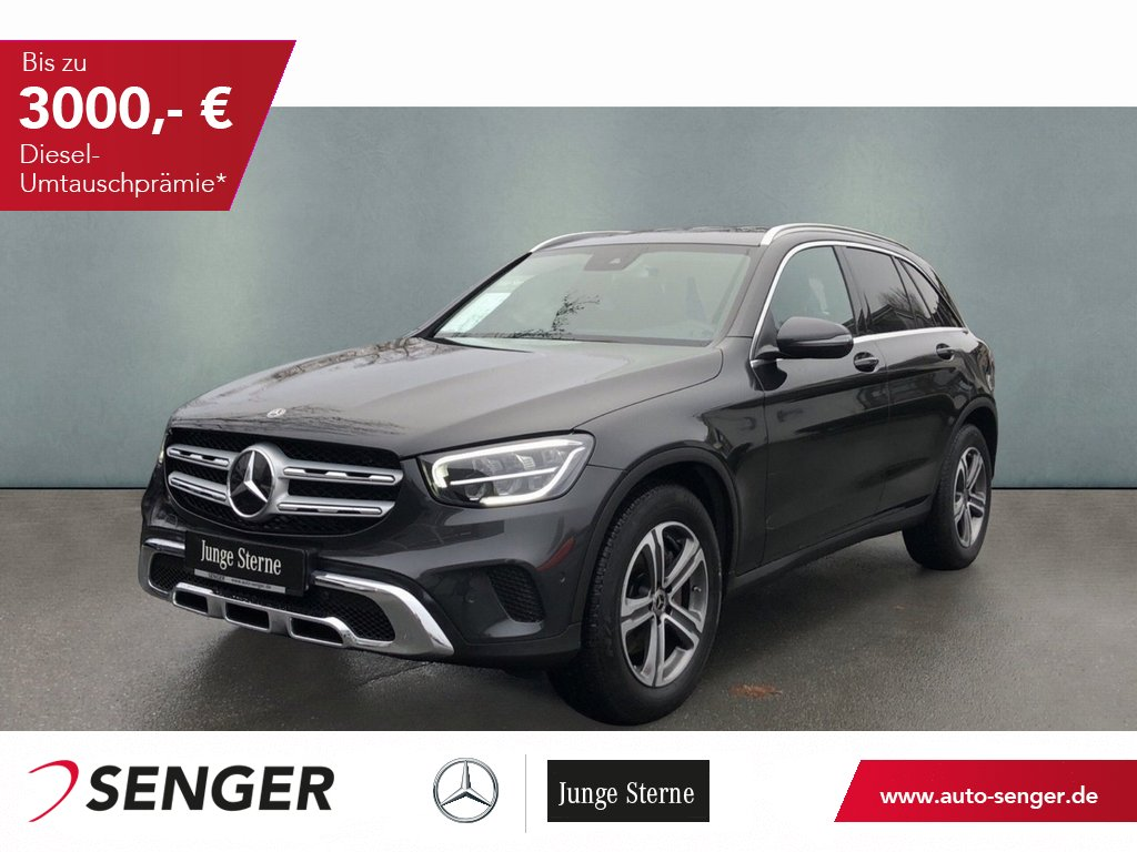 Mercedes-Benz GLC 220 d 4M Business Assistenz EASY-PACK LED, Jahr 2020, Diesel