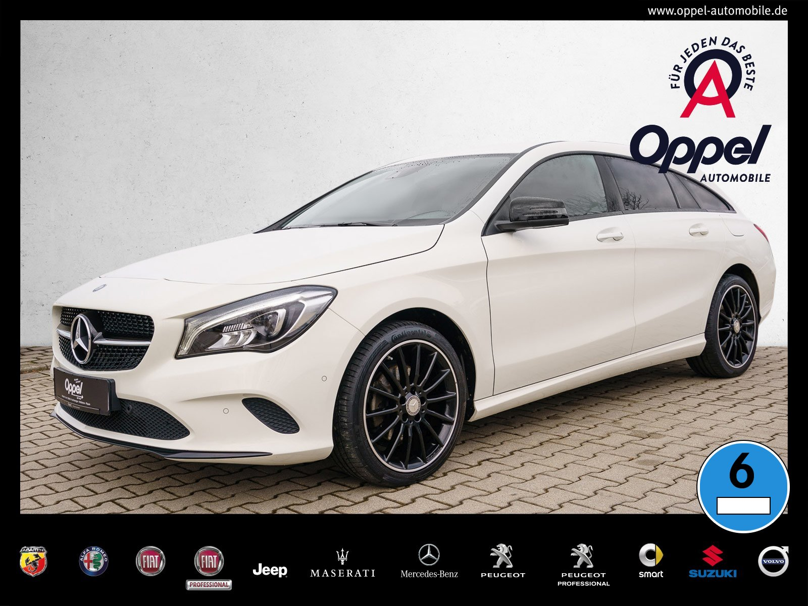 Mercedes-Benz CLA 200 Shooting Brake LED+MAP PILOT+URBAN+TEMPO, Jahr 2016, Benzin