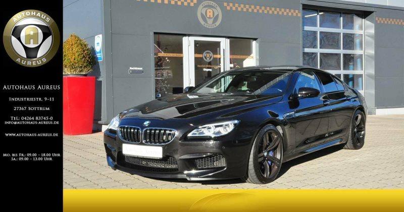 BMW M6 Gran Coupe*LED*LEDER*HEAD-UP*HARMAN-KARDON*, Jahr 2016, petrol