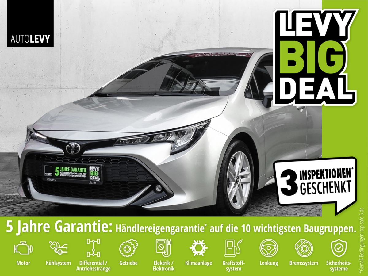 Toyota Corolla 1.2 Turbo Comfort *Navi*Sitzheizung*Safe, Jahr 2019, Benzin
