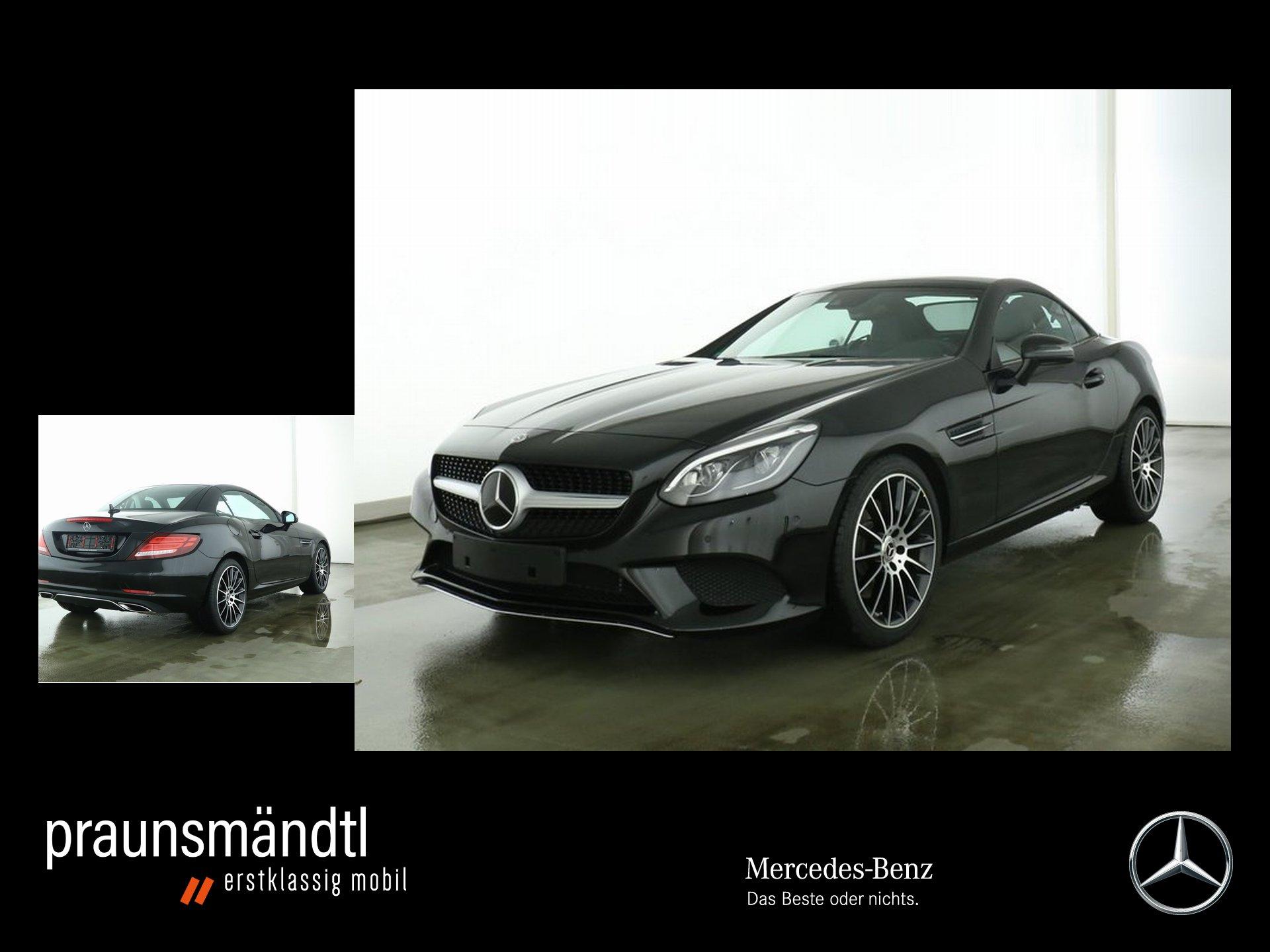 """Mercedes-Benz SLC 300 Comand/AMG 18""""/Distro./Memory/Kamera/Tot, Jahr 2019, petrol"""