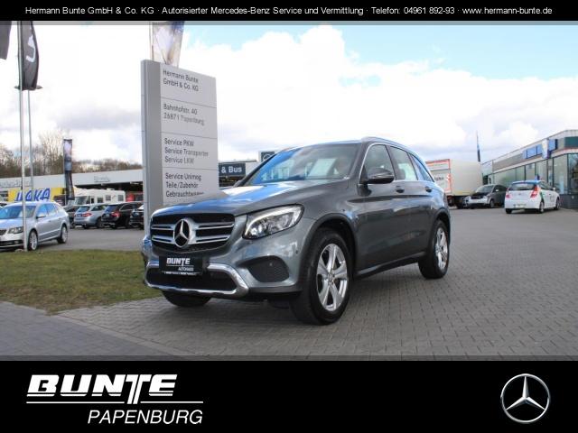 Mercedes-Benz GLC 220 d 4Matic Exclusive+AHK+ILS+LED+Navi+SHZ+, Jahr 2015, Diesel