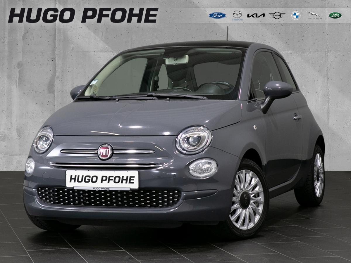 Fiat 500 Lounge Automatik Pano 1.Hd.Klima PDC Navi, Jahr 2018, Benzin