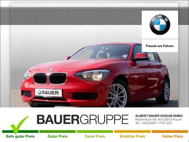 BMW 114i Bluetooth Klima PDC el. Fenster, Jahr 2012, petrol