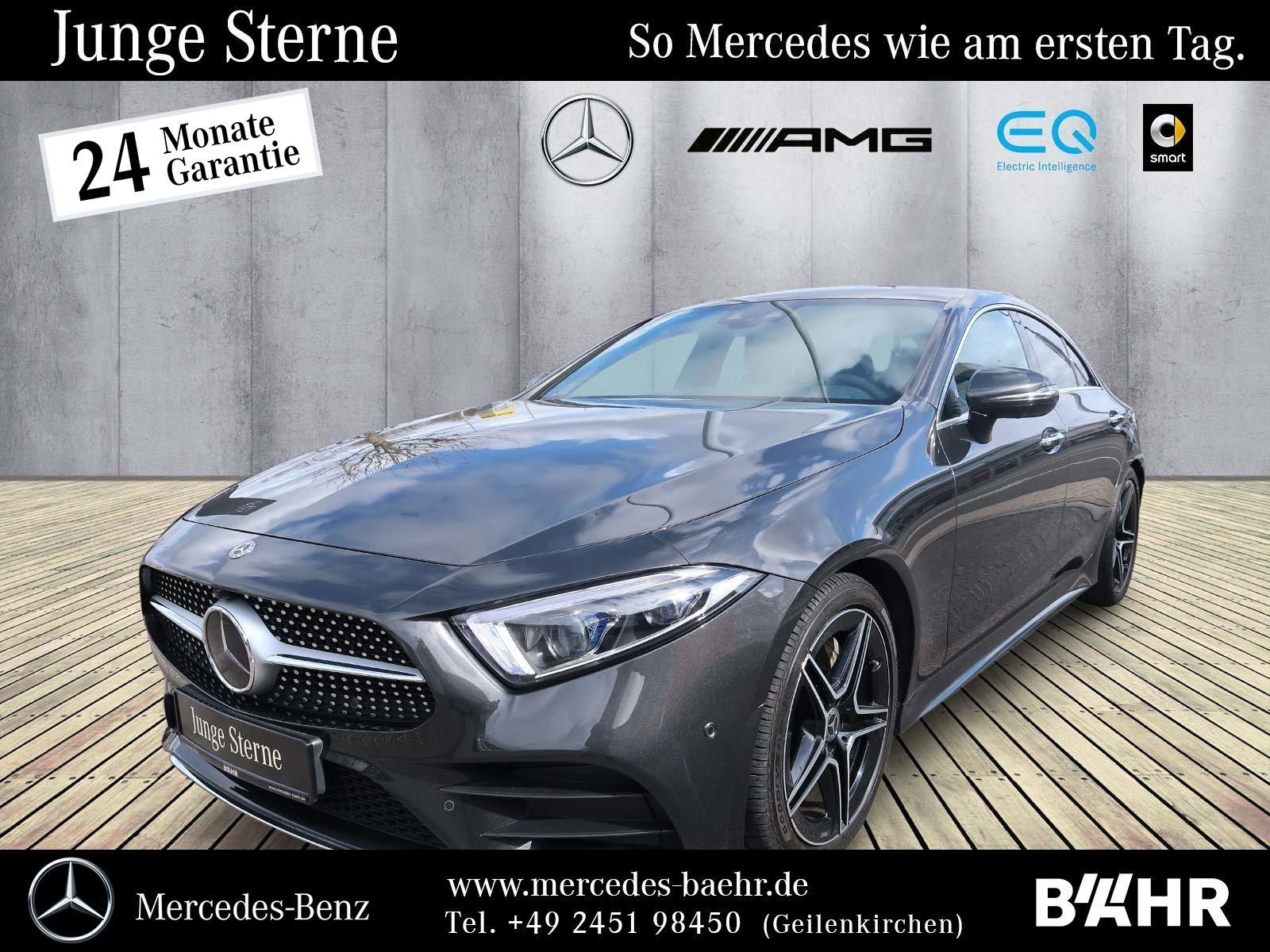 Mercedes-Benz CLS 400 d 4M AMG/Comand/Multibeam/360°/Burmester, Jahr 2018, Diesel