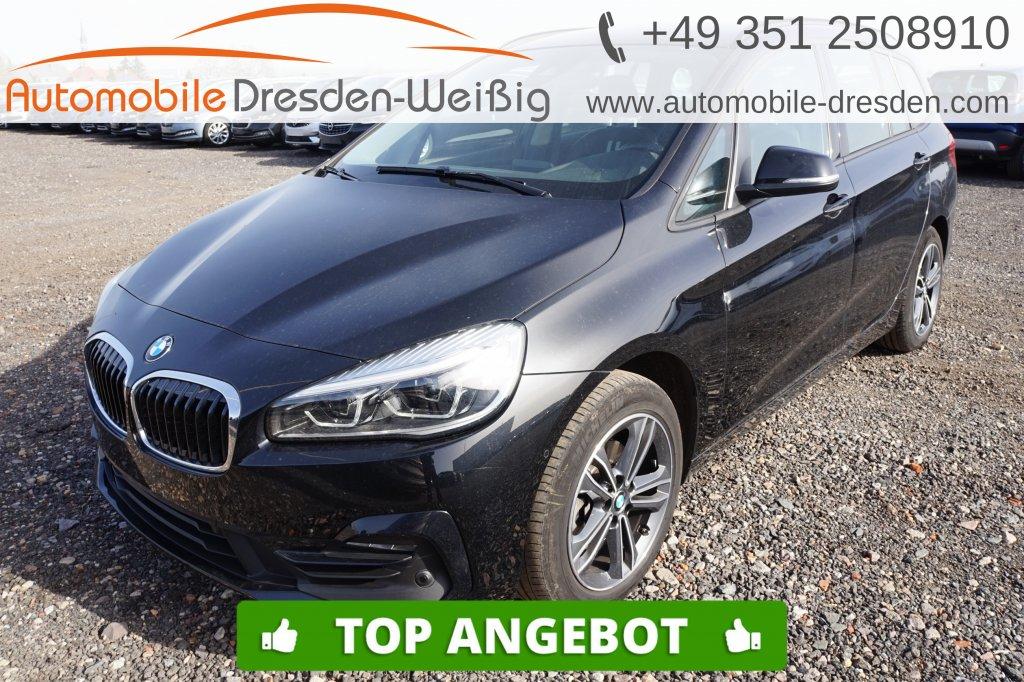 BMW 216 Gran Tourer i Sport Line*Navi*UPE 40.080€, Jahr 2019, Benzin