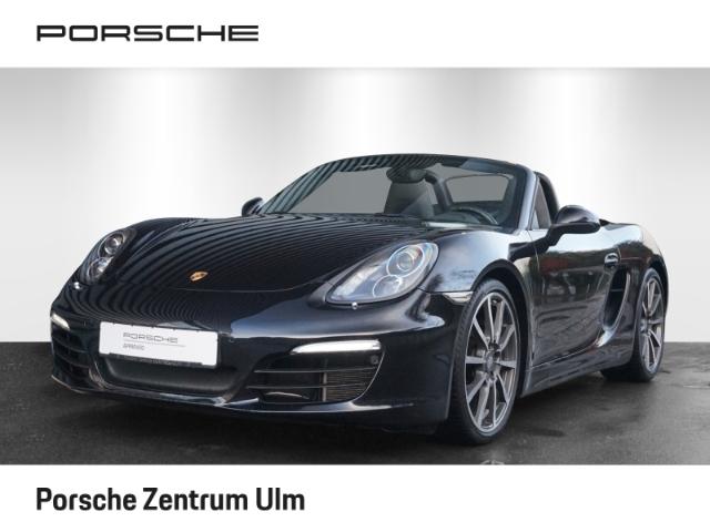 Porsche Boxster Black Edition 2.7 PASM SportabGasanlage, Jahr 2015, Benzin