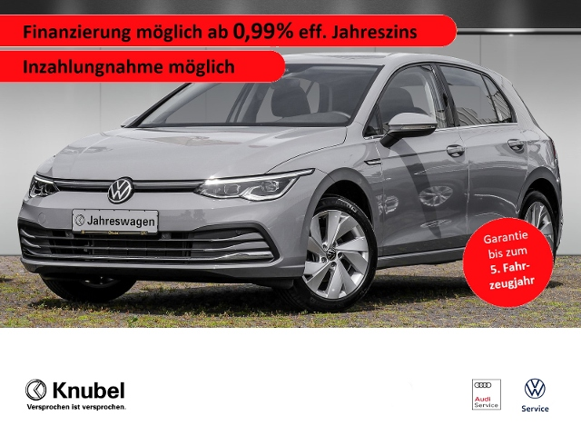 Volkswagen Golf VIII Style 1.5 TSI*AHK*LED plus*Nav*ACC*PDC, Jahr 2020, Benzin