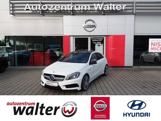Mercedes-Benz A 45 AMG 2.0l 4-Matic, Navigation, Sitzheizung, Jahr 2014, petrol