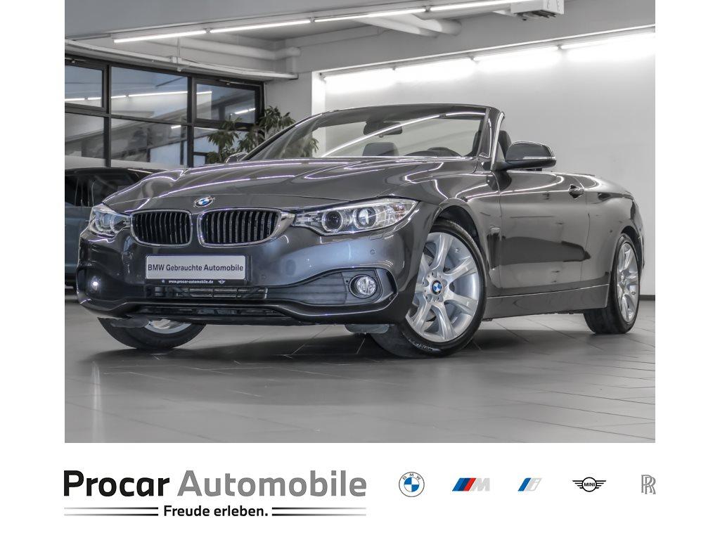BMW 420d Cabrio Aut Nav HiFi PDCv+h Klimaaut Shz 18, Jahr 2015, Diesel
