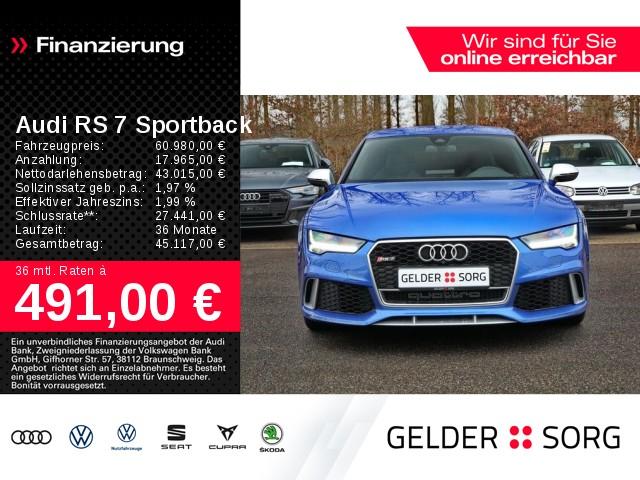 Audi RS7 Sportback 4.0 TFSI quattro*LED*Kamera*Lane*, Jahr 2016, Benzin