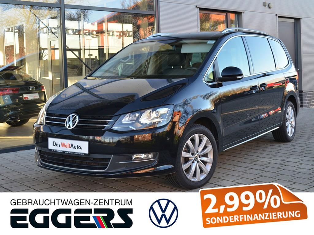 """Volkswagen Sharan TDI 2.0 *Highline*Pano*AHK*XEN*StaHzg*17"""", Jahr 2013, diesel"""