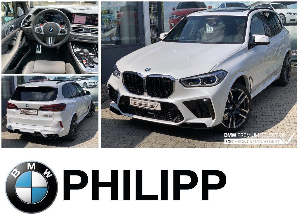 BMW X5 M M Drivers TV-Fond Aktiv.Sitzbelüft.LaserB&W, Jahr 2020, Benzin