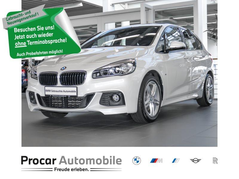 BMW 220d Active Tourer M Sport Navi LED H/K AHK Pano, Jahr 2018, Diesel