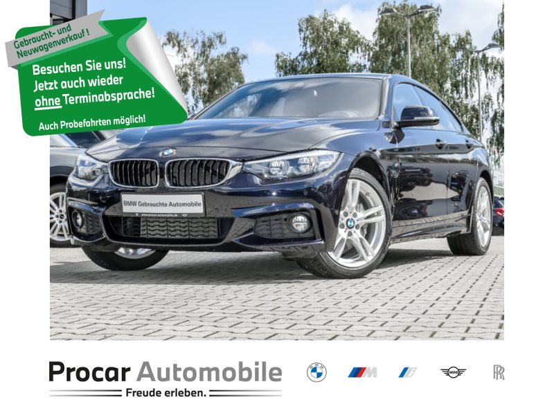 BMW 440i xDrive Gran Coupé M Sportpaket HuD HiFi, Jahr 2018, Benzin