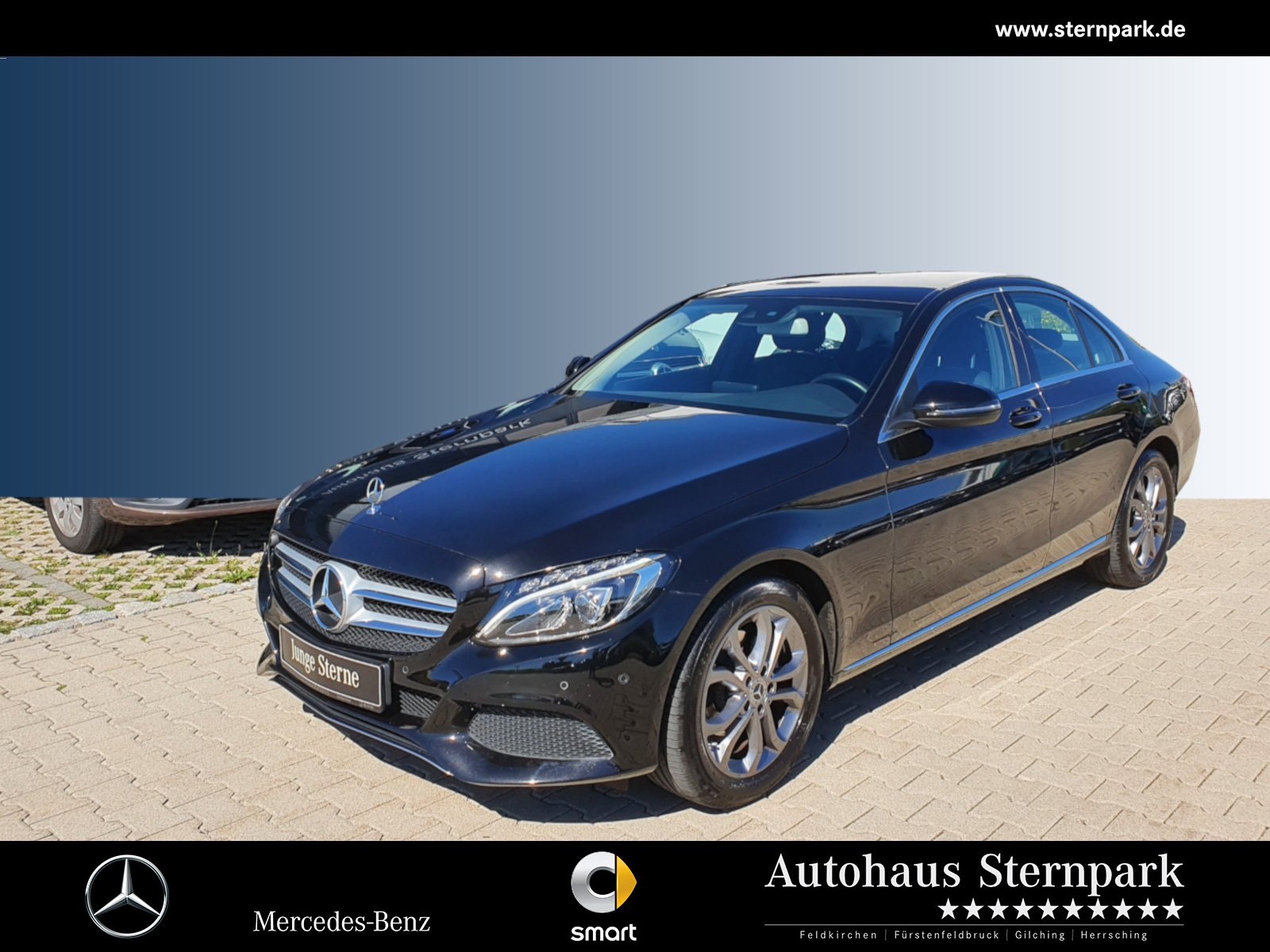Mercedes-Benz C 180 Avantgarde LED/Navi/Spur-Paket/PTS u.v.m, Jahr 2018, Benzin