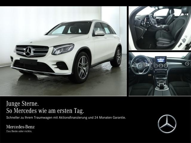 Mercedes-Benz GLC 300 4M AMG,Panodach,COMAND,LED,Sitzhzg.,PTS,, Jahr 2018, Benzin
