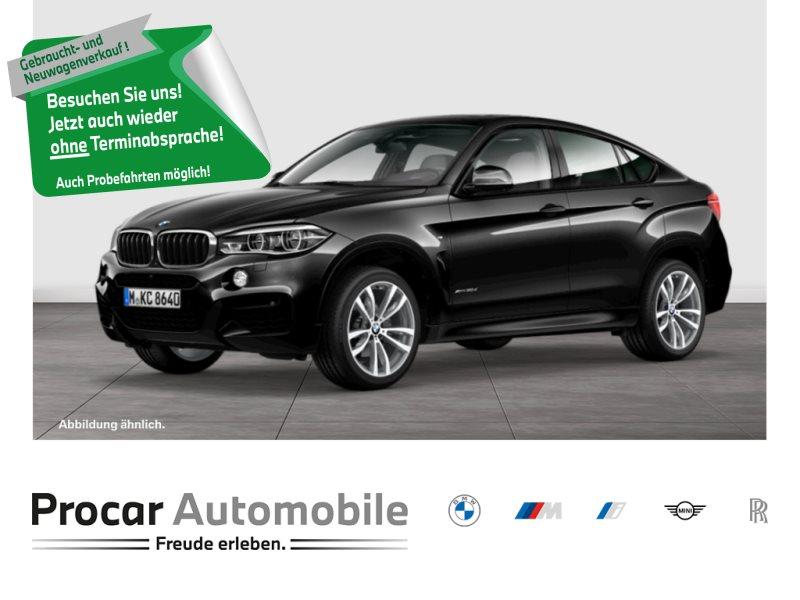 BMW X6 xDrive30d M Sportpaket Head-Up LED AHK Glsd., Jahr 2018, Diesel